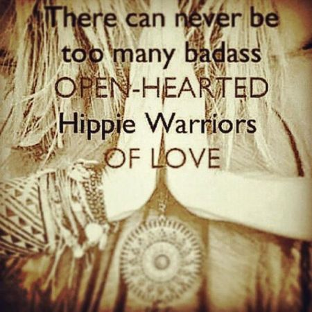 hippie warrior