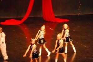 Olivia, back left