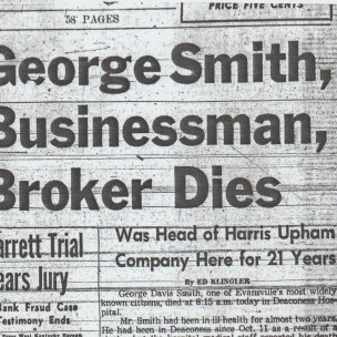 October 27, 1955 Evansville Press, page 1